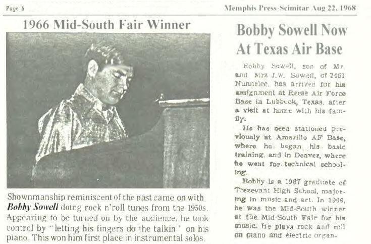 1968 News Paper Article
